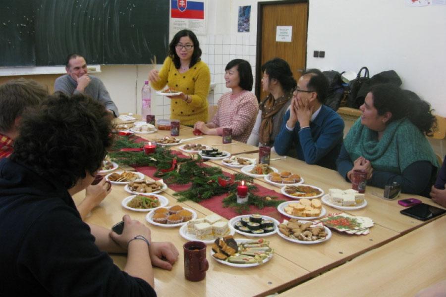 Vianočná slovenčina pre cudzincov